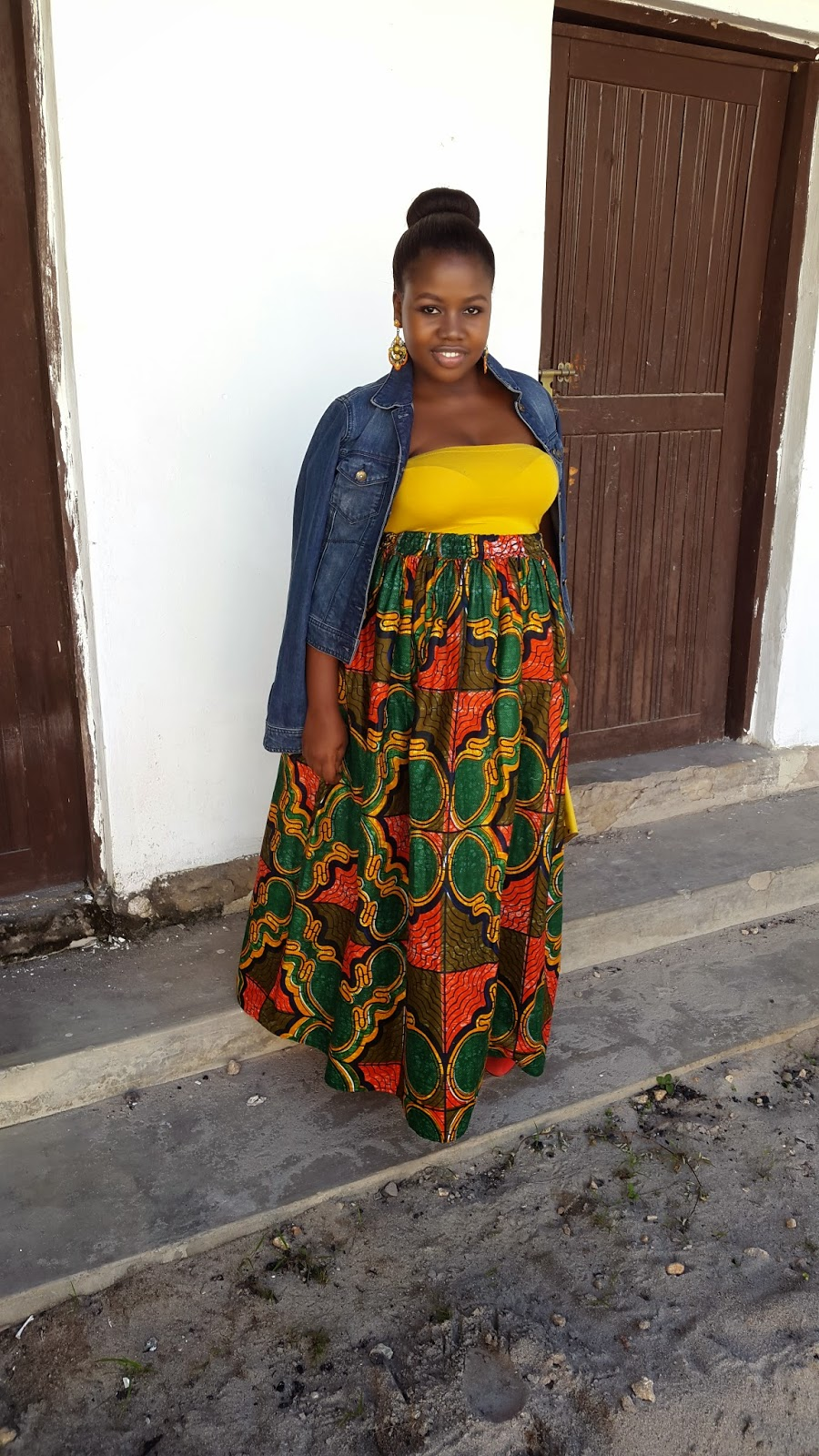 Khanga maxi dresses