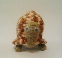 amigurumi, ganchillo, crochet, tortuga
