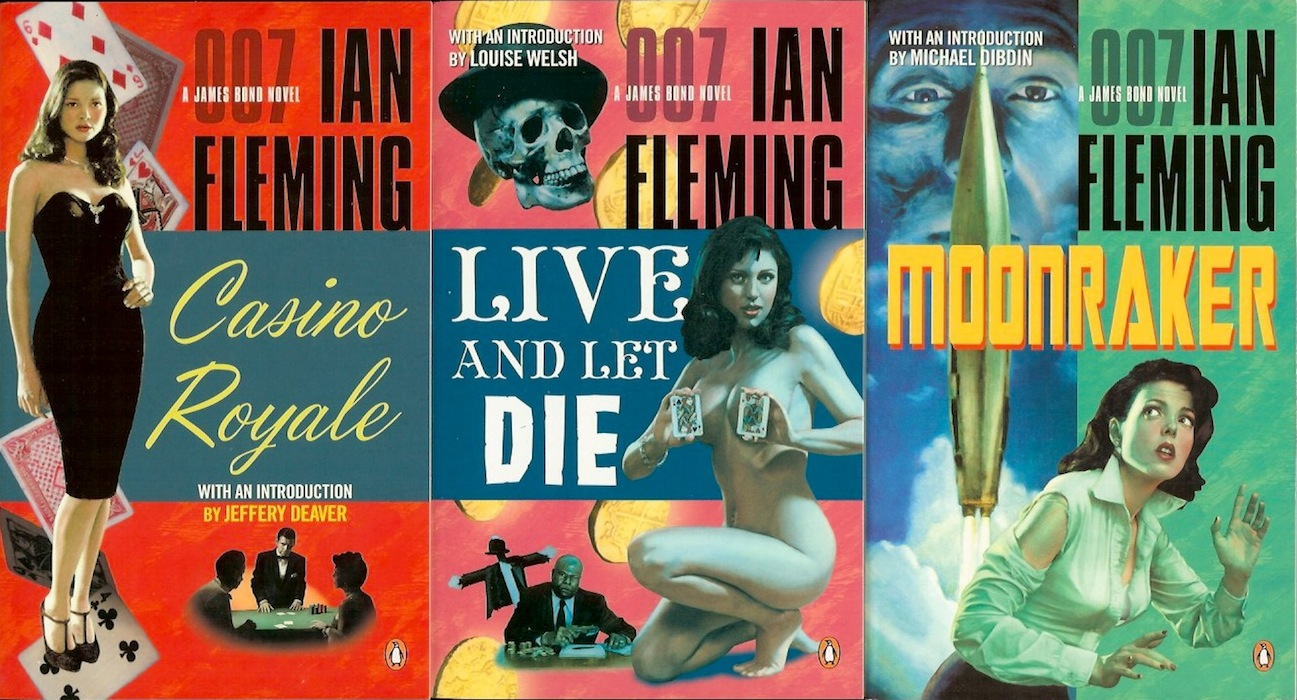 James Bond Book Cover Art : The book bond penguin sends james back in time