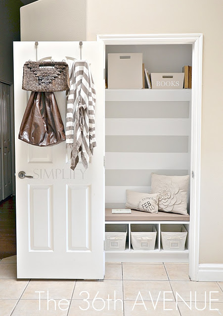 Small Foyer With Closet : Mud quot room closet