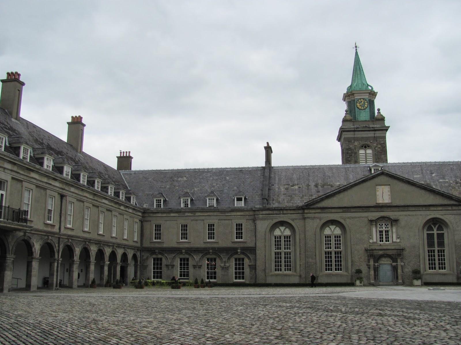 Royal Hospital Kilmainham Inner Courtyard Kilmainham Dublin, Ireland