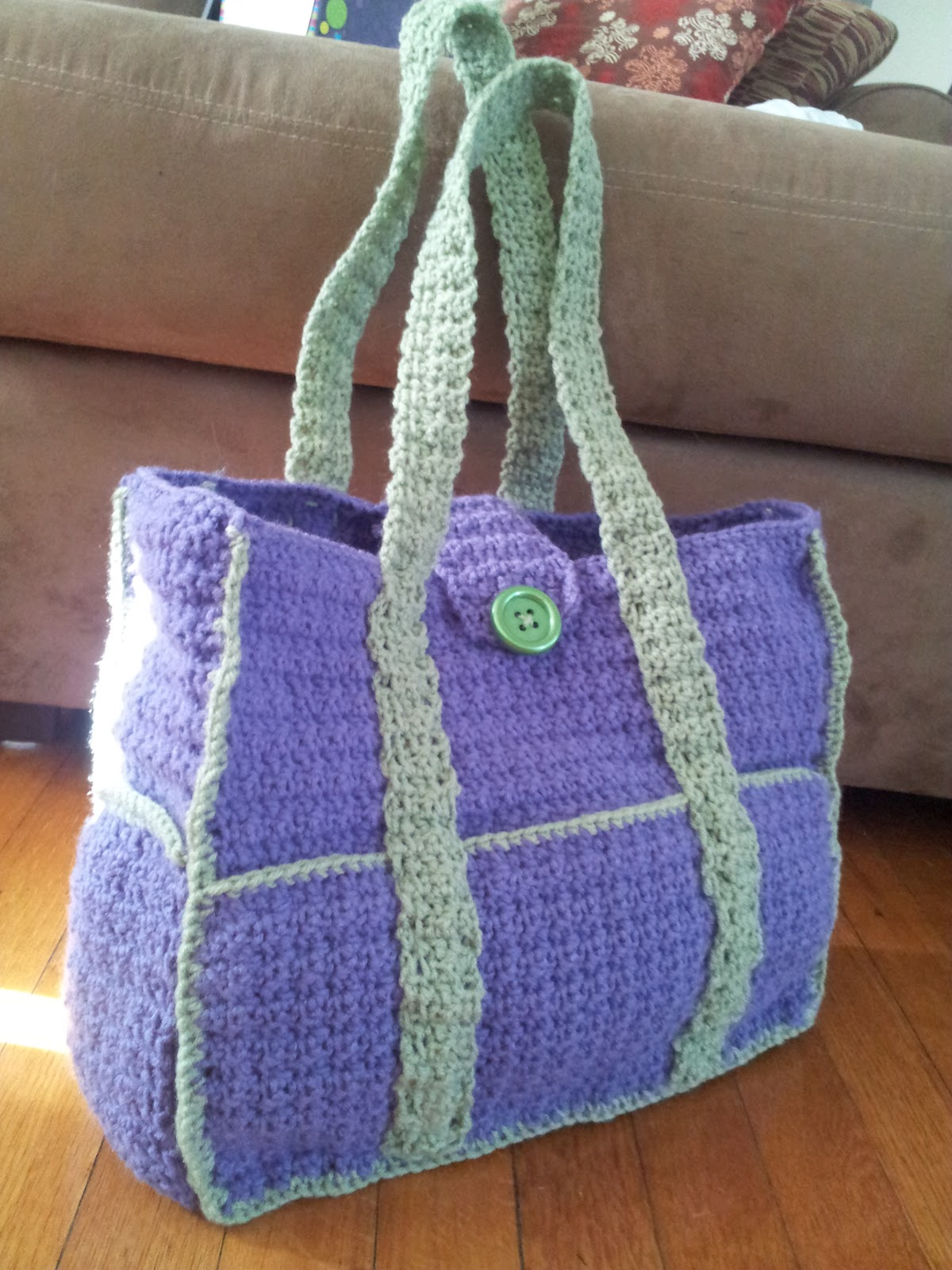 Ratchit Fratchit Emmers: Crocheted Creation - Diaper Bag