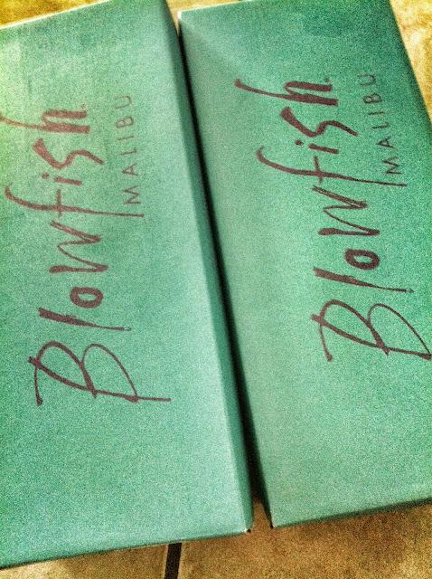 blowfish Malibu shoe boxes