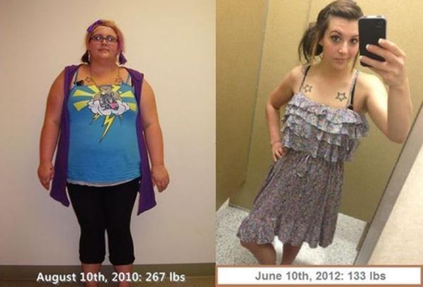 LeaNoticias.com — El antes y después de una dieta y