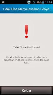 BBM android Susah Login
