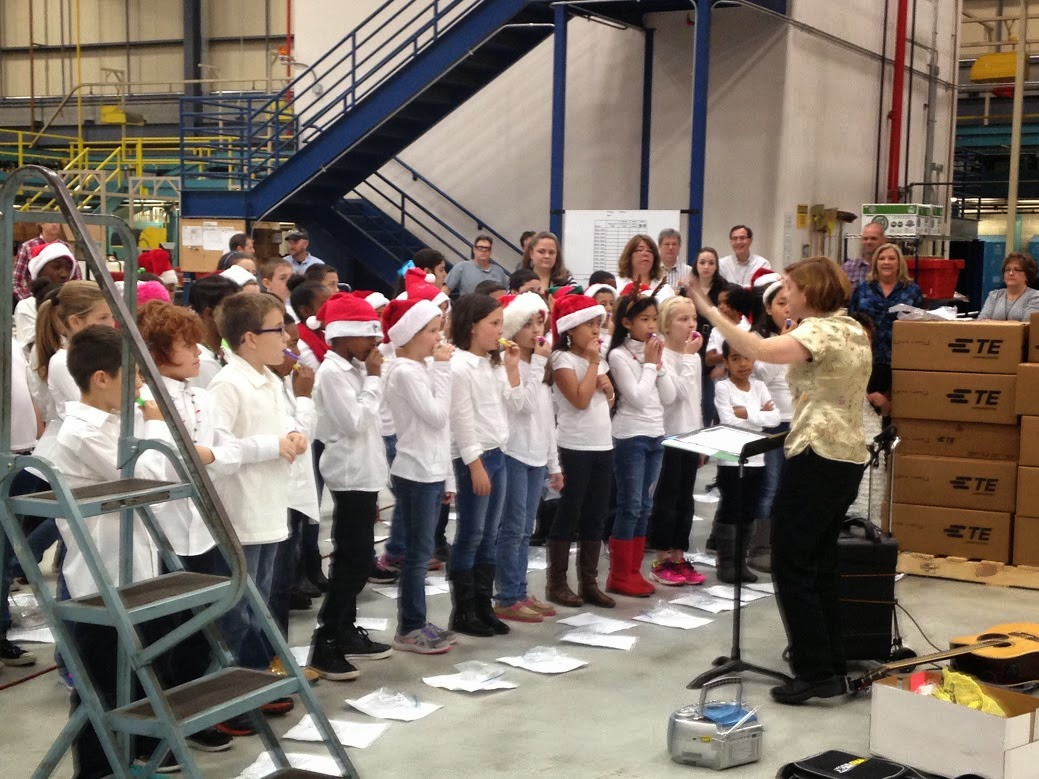 Your Permanent Record Sedge Garden Students Are Singing Visiting And Helping Others During The