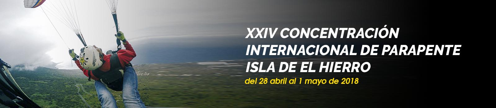 Concentración Internacional de Parapente isla de El Hierro