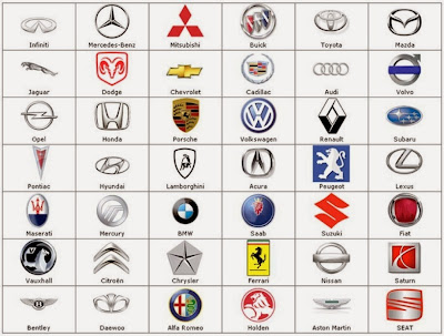 Red Automotive Logos Start with d c.