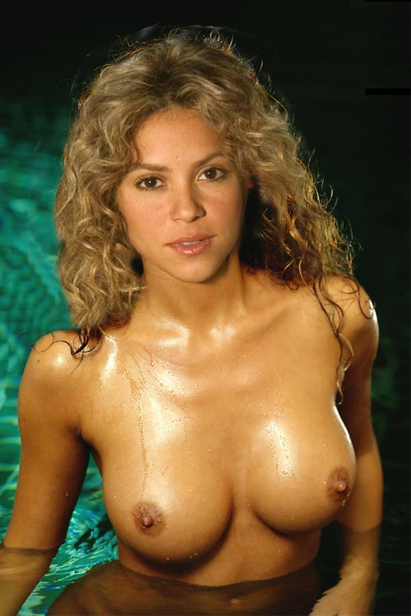 shakira naked and nude