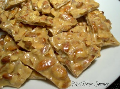 Microwave Almond Brittle