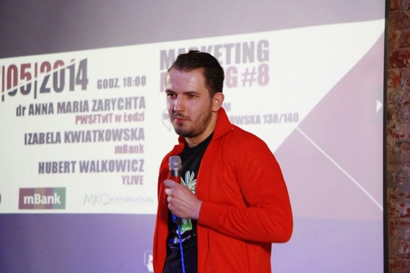Marketing Meeting, Łódź, spotkanie, event, ludzie, publiczność, Hubert Walkowicz, YLIVE