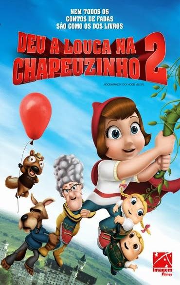 Deu a Louca na Chapeuzinho 2 – Dublado (2011)