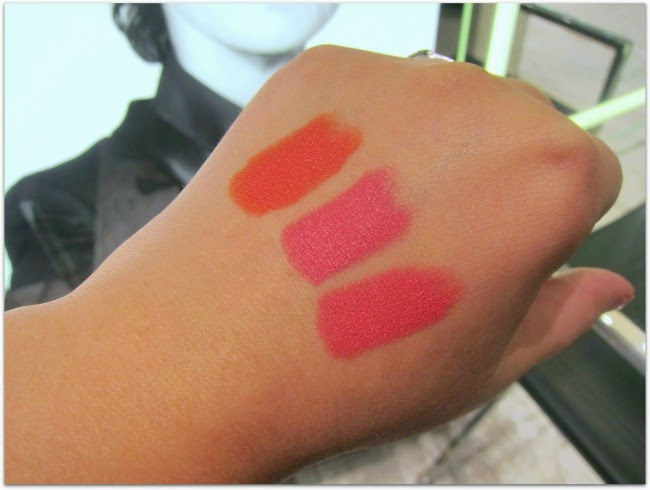 NARS Audacious Lipstick Swatches Geraldine Natalie Juliette