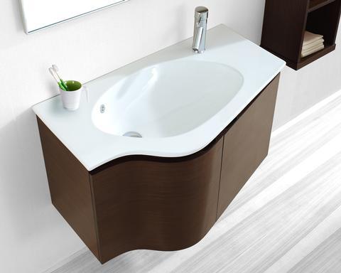 Free standing bathroom vanities bathroom vanities and cabinets 2013 mirror mirrored chest - Narrow depth bathroom vanity cabinets ...