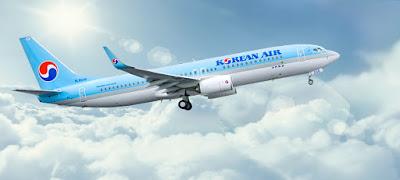 vé máy bay đi mỹ korean air
