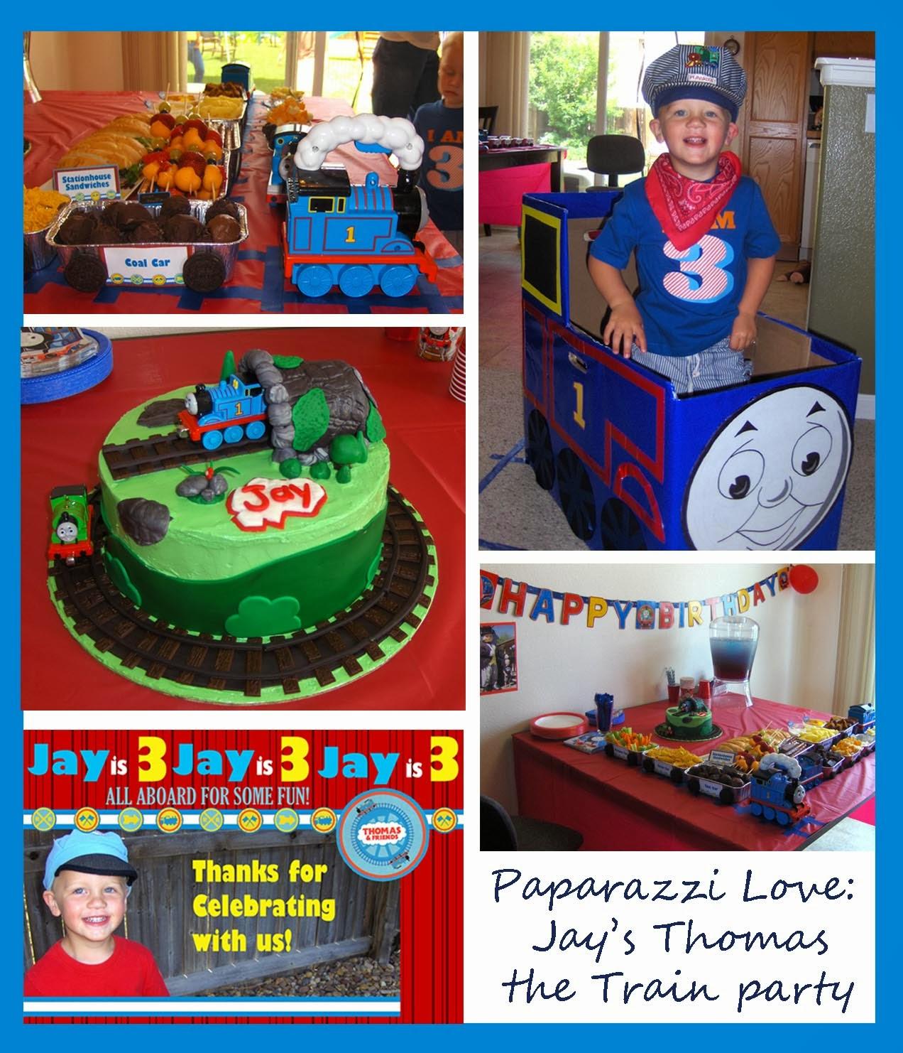 paparazzi love jay 39 s thomas the train birthday party. Black Bedroom Furniture Sets. Home Design Ideas