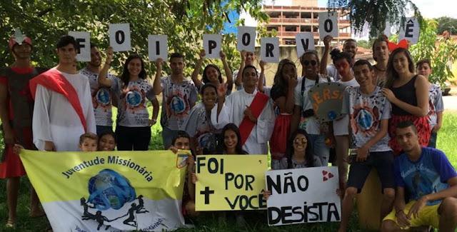 Com gincana, jovens de Brasília promovem momento de evangelização