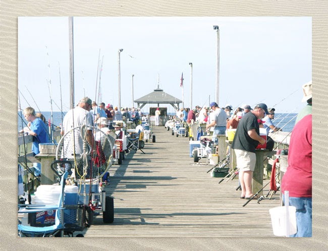 Ocp fish tales ocp web cam up running on web site for Ocean crest fishing pier