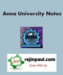 Anna University Notes ECE EEE CSE IT Mech CIVIL BME MBA MCA ME Notes