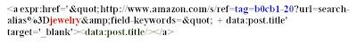 Cheap Watch = Kode Ajaib Amazon Untuk Blogspot