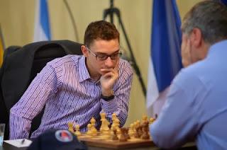 Ronde 6 : Fabiano Caruana (2779) 1-0 Vassily Ivanchuk (2731)  © site officiel