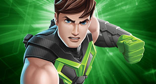 Max Steel Reboot...ahora en verde