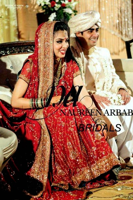 Naureen Arbab Bridal Dress Collection 2014