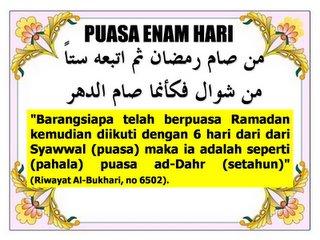 Malaysians Must Know The Truth Niat Puasa Enam Di Bulan Syawal Kelebihan Dan Keistimewaan Puasa Enam Di Bulan Syawal
