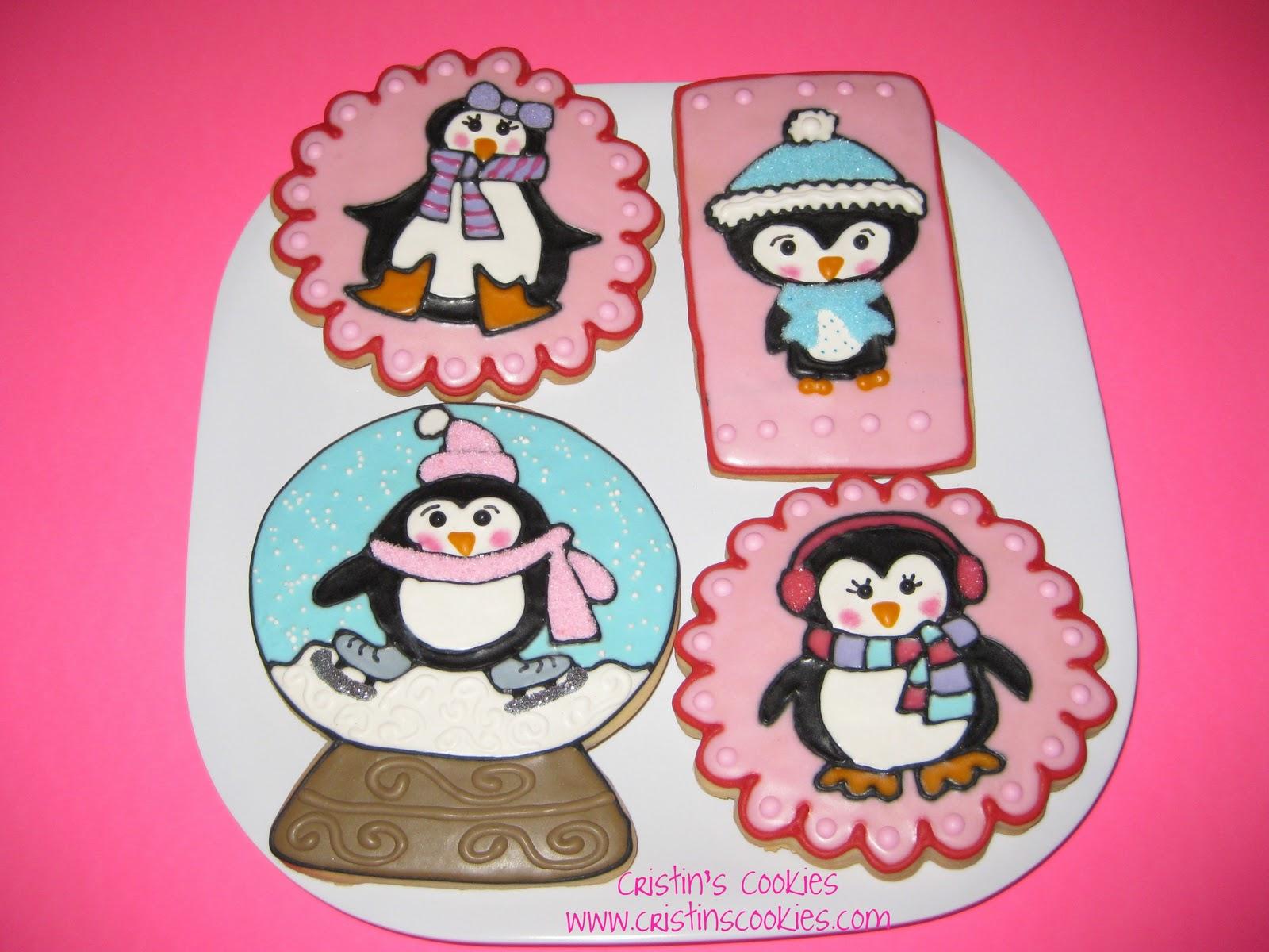 Cristin S Cookies Christmas Cookies Penguins