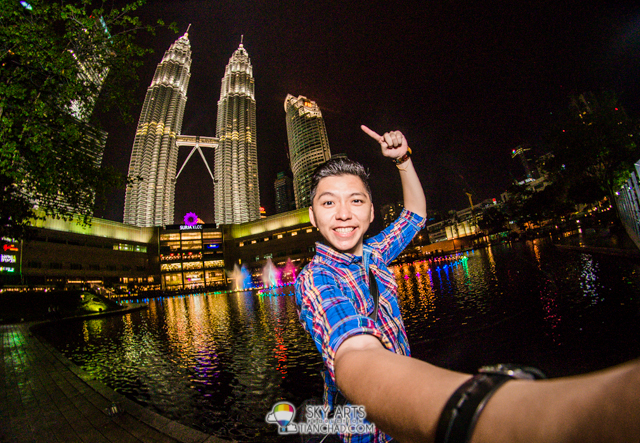 Selfie with Petronas Twin Towers