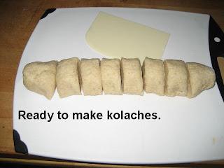 The Food: Czech Farmer's Cheese Pie - Kolaches