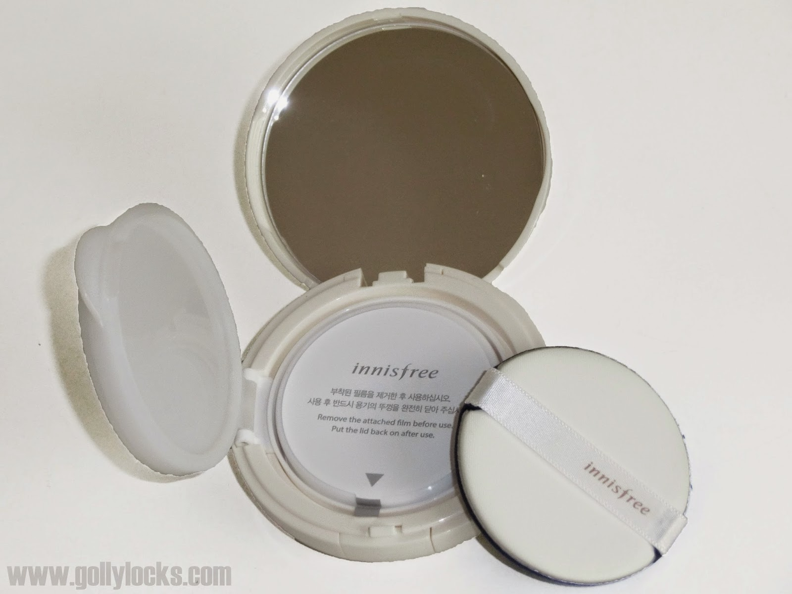 Innisfree water glow cushion review Security seal