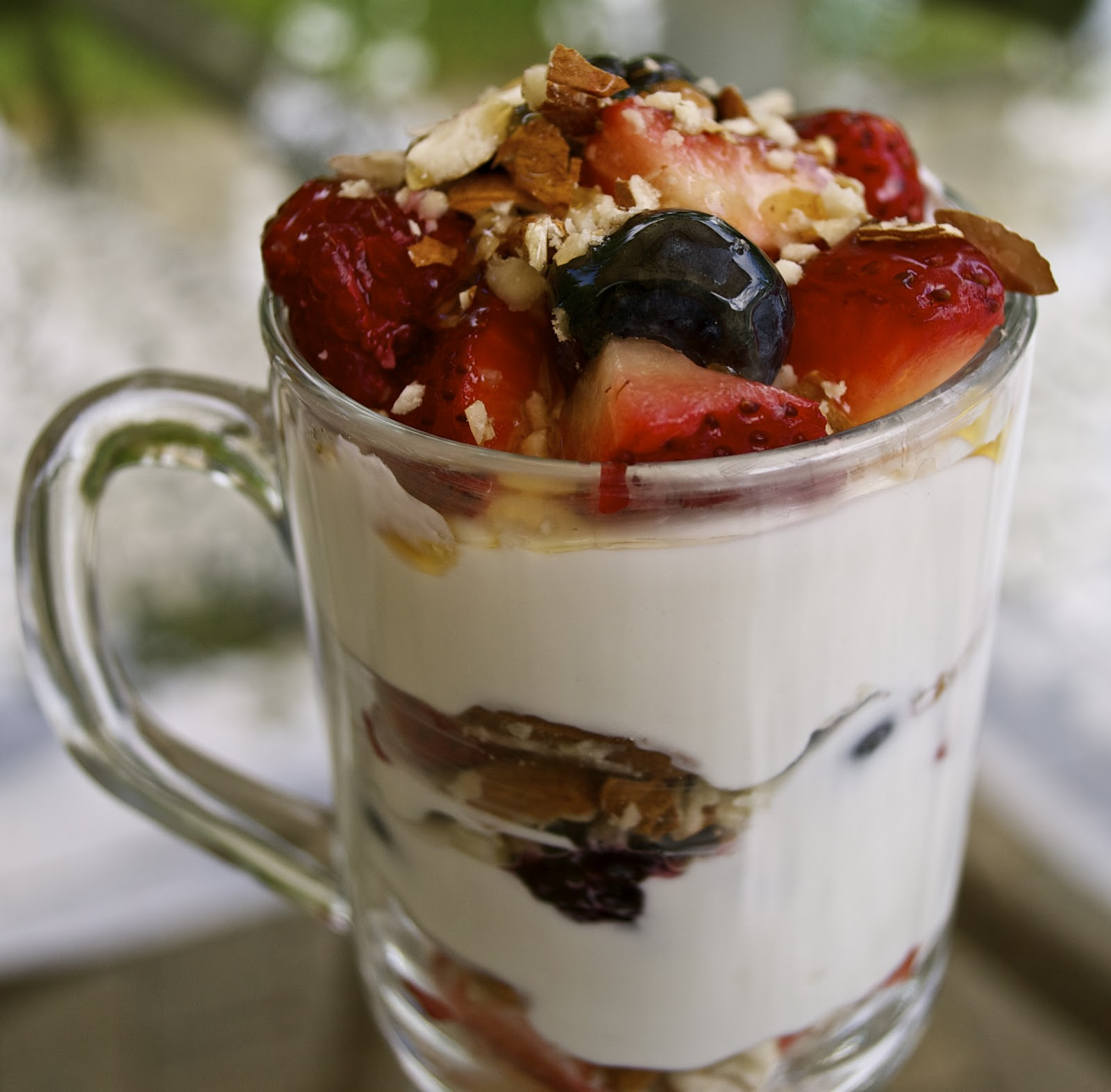 Greek Yogurt Parfait | Cook-Click-Eat-Repeat