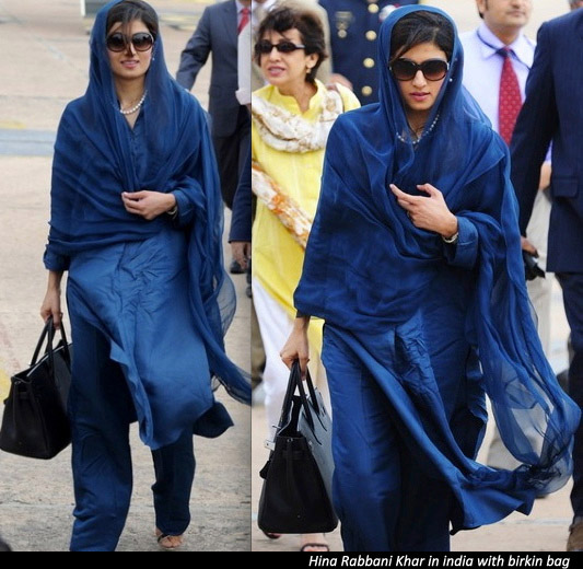 Hina Rabbani Khar india