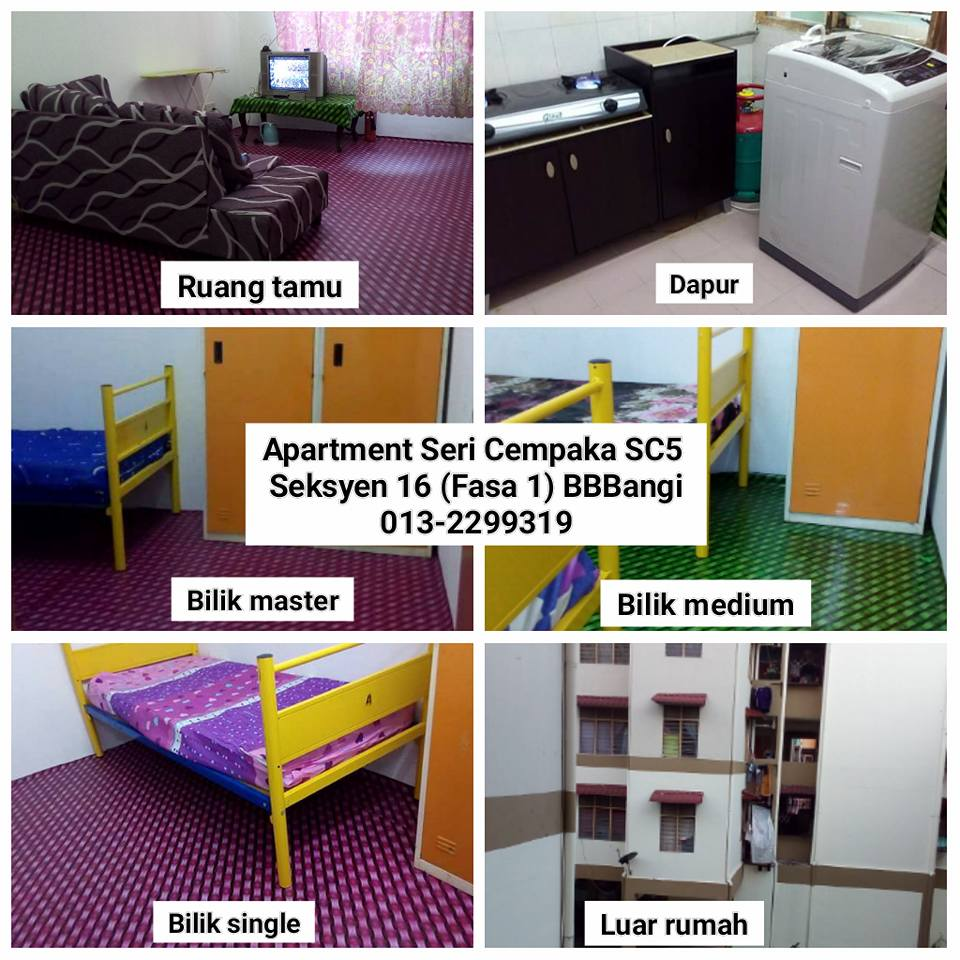 Apartment Seri Cempaka SC5 S16