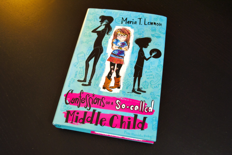 Confessions of a So-Called Middle Child Maria T. Lennon #review