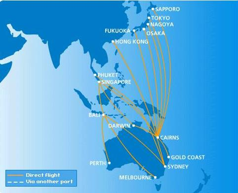 routes map air australia routes map. Black Bedroom Furniture Sets. Home Design Ideas