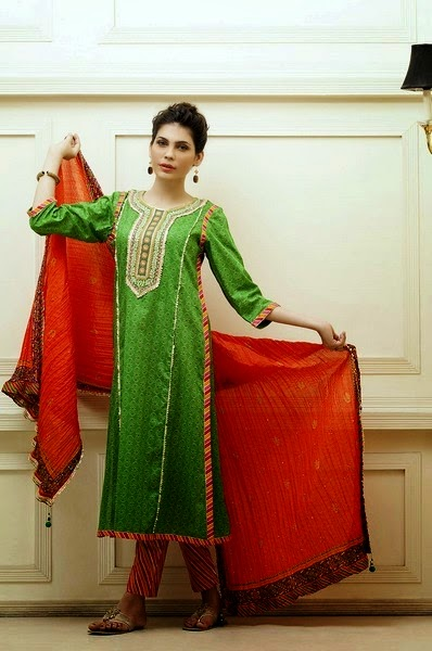 Kayseria Pret Eid Dress Collection 2014