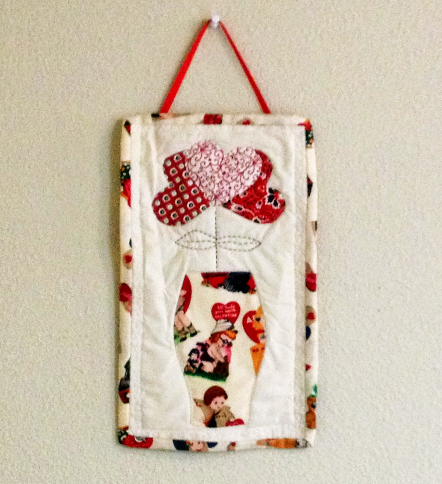 miniature wall hanging
