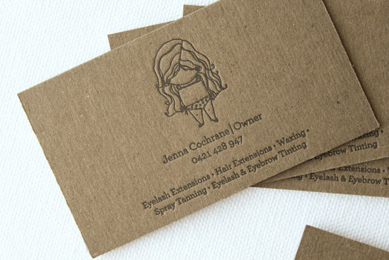 More business cards design blog and more pons heres an interesting business card that seems to be printed on recycled paper personally i find this concept of ugly on one side pretty on another reheart Choice Image