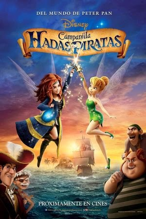 Poster The Pirate Fairy 2014