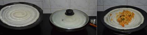 how to make gobi dosa