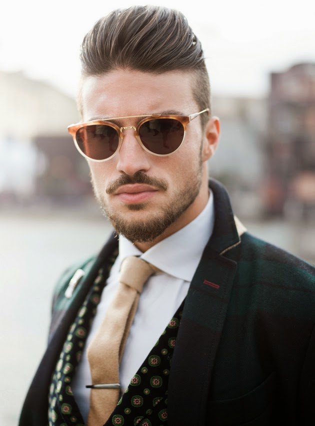 Hairstyle Advice Italian Male Model