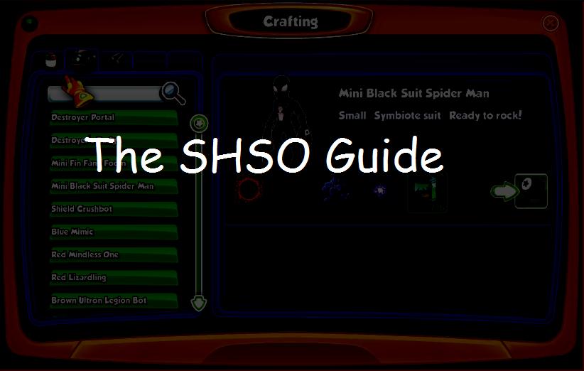 The SHSO Guide