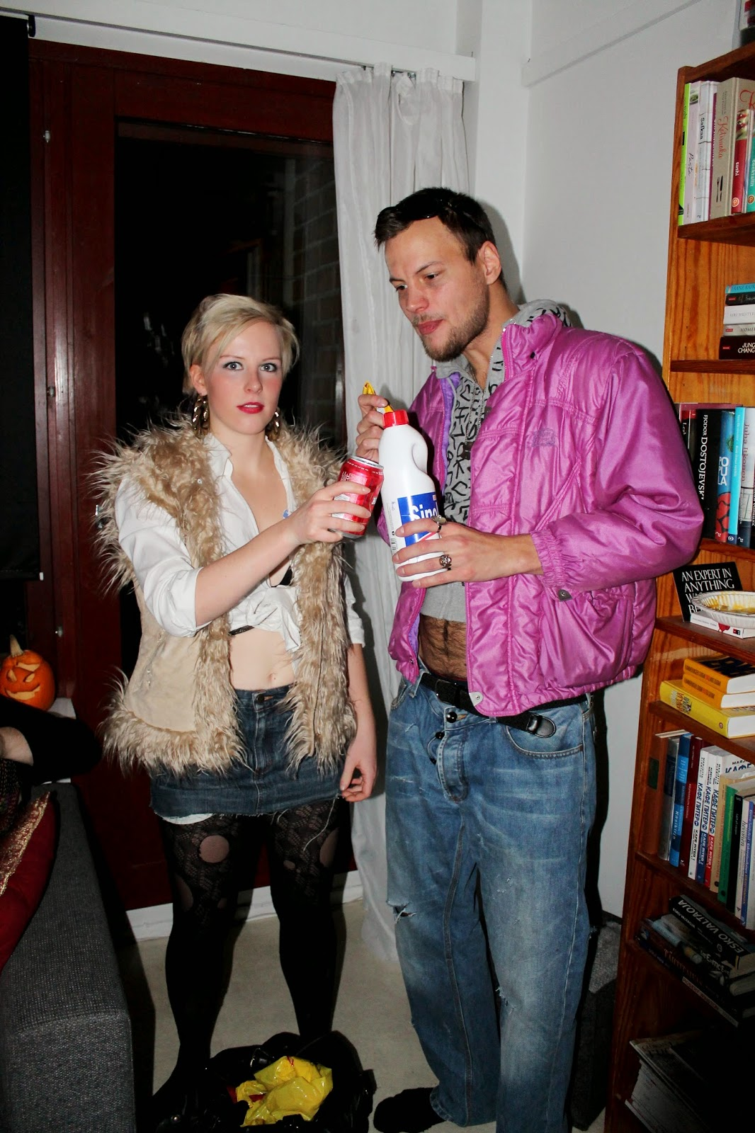 the craziest and funniest young or adult halloween party outfit ideas: hobo outfit