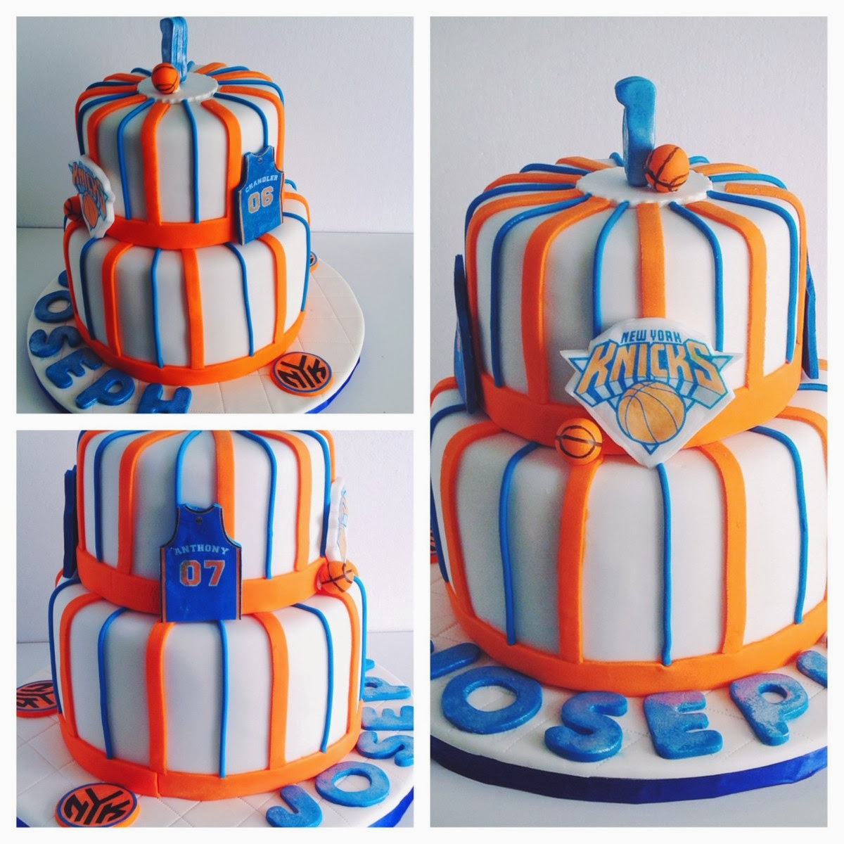 Lakers Themed Baby Shower: The Orange Apron Cakery: Custom Cakes