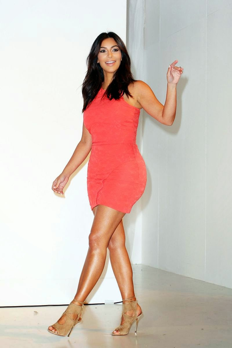 Kim Kardashian attends the Kardashian Kollection Spring 2015 Launch in Sydney