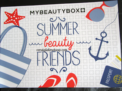 MyBeautyBox Luglio 2015 - Summer Beauty Friends