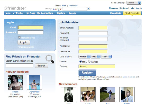 Still Remember Friendster?