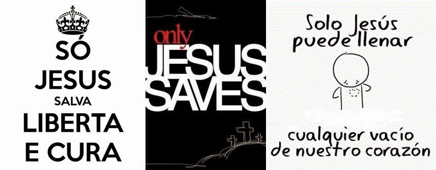 Jesus é a solução!